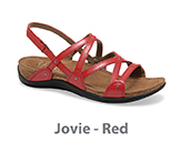 Jovie Red Patent Leather