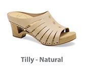 Tilly Natural Veg Tan Leather