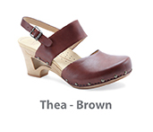 Thea Brown Veg Leather