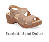 Scarlett Sand Dollar Soft Full Grain Leather