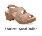 Scarlett Sand Dollar Soft Full Grain Leather