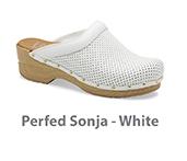 Perfed Sonja White Veg Tan Leather