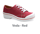 Veda Red Canvas