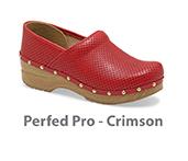 Perfed Pro Crimson Veg Tan Leather