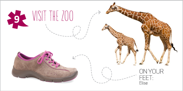 10 Summer Adventures for 10 Dansko Shoes  -