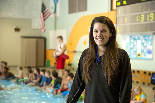 Volunteers Leave a SPLASHing Impact - YMCA Employee