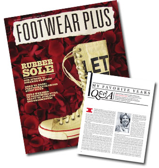 Dansko's co-founder, Mandy Cabot, was recently interviewed by Footwear Plus