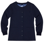 Georgina Navy Stretch Woven