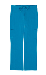 Gina Teal Stretch Woven