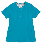 Gilda Teal Stretch Woven