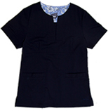 Gillian Navy Stretch Woven