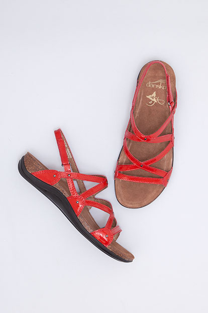Jovie Red Patent from the Vista