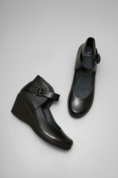 Rebel Black Burnished Nappa from the Naples