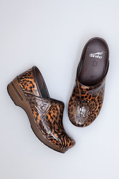 Professional Cheetah Multi Patent from the Stapled Clog