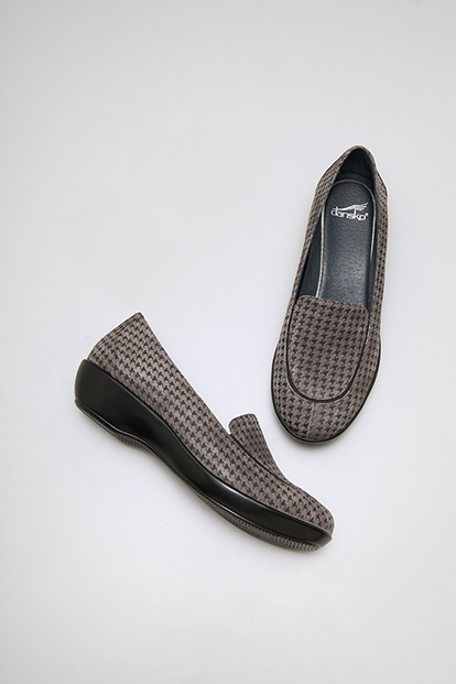 Debra Grey Houndstooth Suede from the Pasadena
