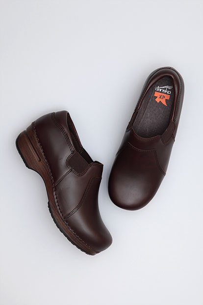 Tatum Espresso Pull-Up from the XP Clog
