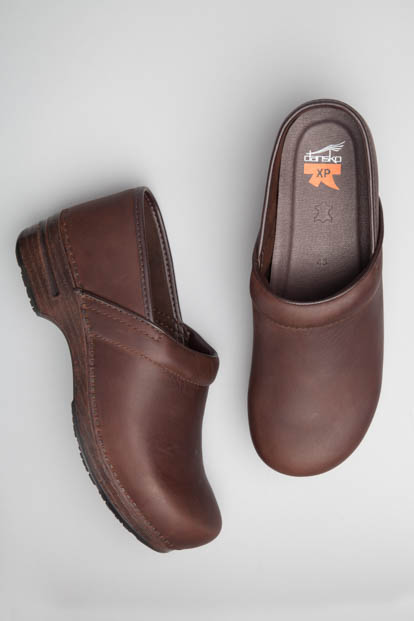 Pro XP (Men) Brown Oiled from the XP Clog