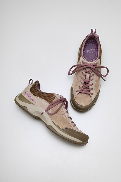 Sabrina Taupe Plum Suede from the Santa Fe