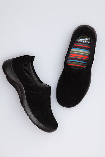Enya Black Suede from the Sedona