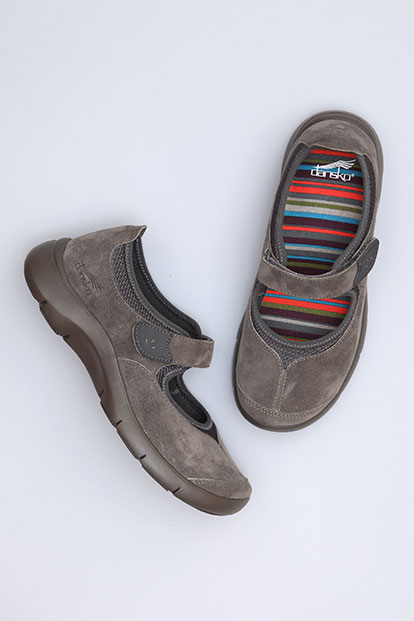 Edda Slate Suede from the Sedona