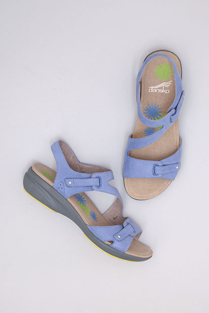 Irene Blue Nubuck from the Sienna