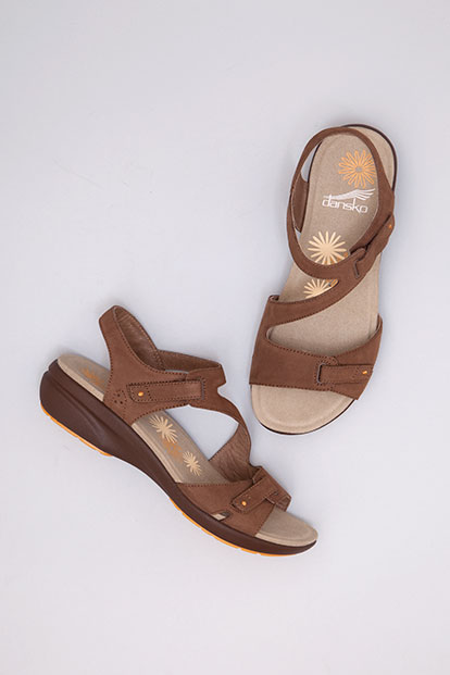 Irene Chocolate Nubuck from the Sienna