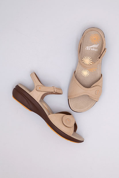 Iris Sand Nubuck from the Sienna