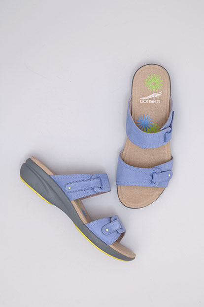 Isabel Blue Nubuck from the Sienna