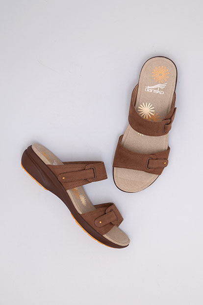Isabel Chocolate Nubuck from the Sienna