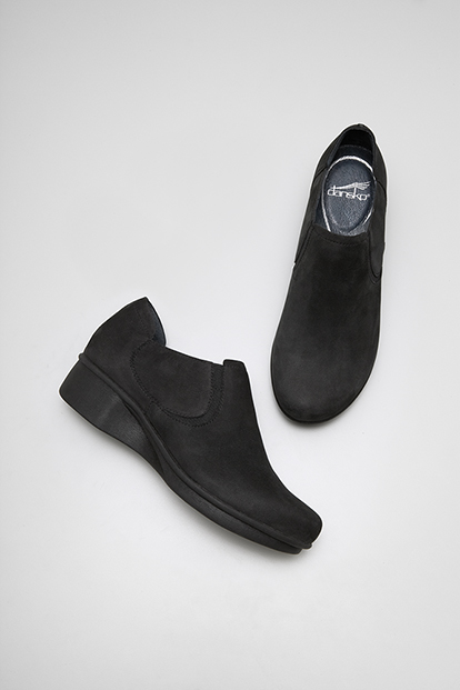 Lynn Black Nubuck from the Lyon
