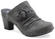Nadine Charcoal Kid Suede