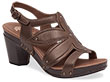Nina Bronze Metallic Leather