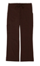 Gina Chocolate Stretch Woven a Pants from the Healthcare collection.