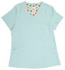 Gwen Seafoam Stretch Woven a Tops from the Healthcare collection.