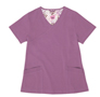 Gwen Purple Stretch Woven a Tops from the Healthcare collection.