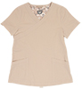 Gwen Khaki Stretch Woven a Tops from the Healthcare collection.