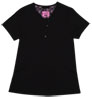 Gilda Black Stretch Woven a Tops from the Healthcare collection.