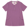 Gilda Purple Stretch Woven a Tops from the Healthcare collection.