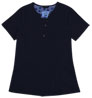 Gilda Navy Stretch Woven a Tops from the Healthcare collection.