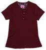 Gilda Wine Stretch Woven a Tops from the Healthcare collection.