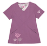 Greta Purple Stretch Woven a Tops from the Healthcare collection.