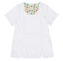 Geri White Stretch Woven a Tops from the Healthcare collection.