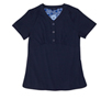 Gloria Navy Stretch Woven a Tops from the Healthcare collection.