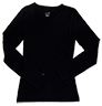 Uma Black Jersey Knit a Layers from the Healthcare Apparel collection.