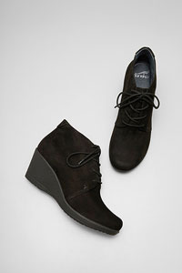 Renee Black Kid Suede