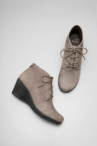 Renee Slate Kid Suede