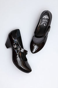 Betty Black Patent