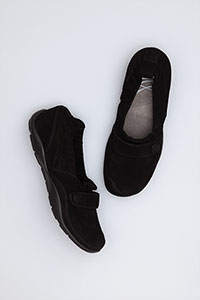 Carol Black Kid Suede