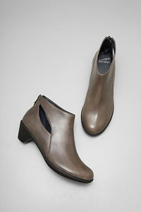 Bonita Grey Burnished Nappa