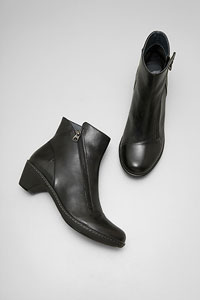 Billie Black Burnished Nappa